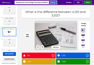 Screenshot Kahoot Online Learning Tool
