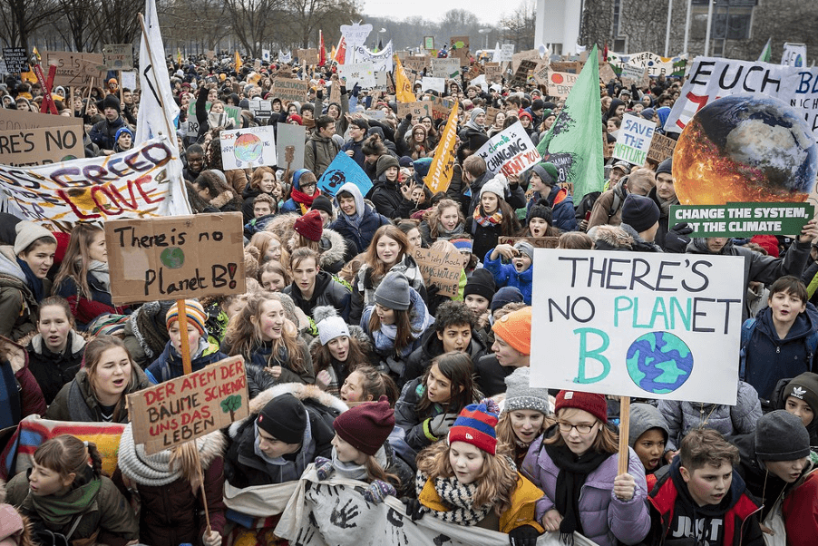 Demonstration Fridays for Future
